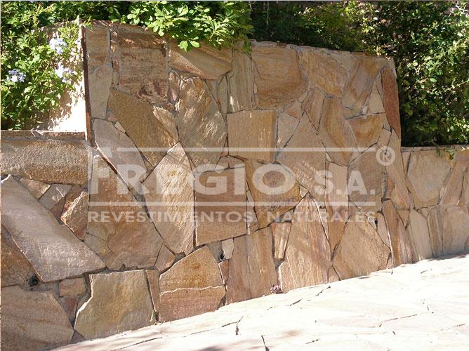 Piedra laja san juan fregio piedras naturales - Lajas para paredes interiores ...